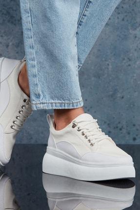 DARK SEER Beyaz Kadın Sneaker DS.KCLFS02