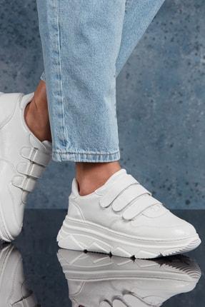 DARK SEER Beyaz Kadın Sneaker DS.PMD352K215