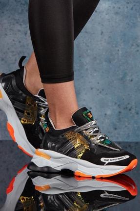 DARK SEER Siyah Kadın Sneaker DS.MSR615