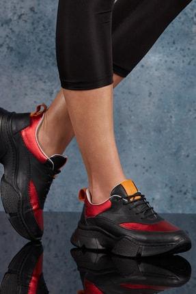 DARK SEER Siyah Kadın Sneaker DS.RDM10150