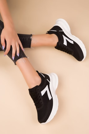SOHO Siyah Kadın Sneaker 15218