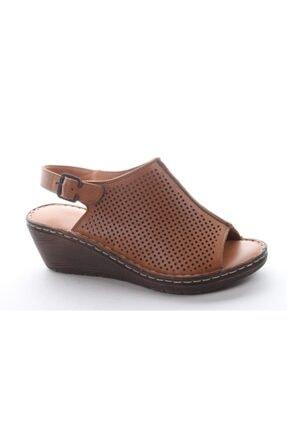 Pandora As235 Kadın Günlük Deri Sandalet