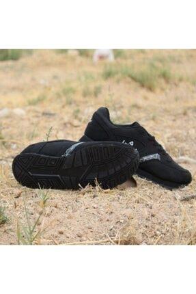 Letoon Unisex Siyah Spor Ayakkabı
