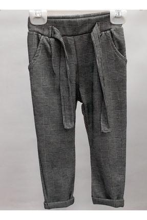 Breeze Kız Çocuk Gri  Ekoseli  Pantolon