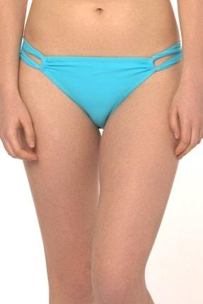 Reflections Kadın Mavi Mix Match Halat Modelli Düz Bikini Alt