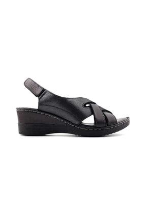 Venüs Kadın Siyah Hakiki Deri Ayakkabı  20981100