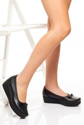 derithy -dolgu Topuklu Ayakkabı-siyah