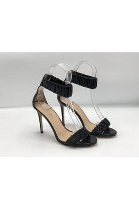 Sofia Baldi Kadın Siyah Hakiki Deri Klasik Topuklu Ayakkabı Sfb19y-6564 70