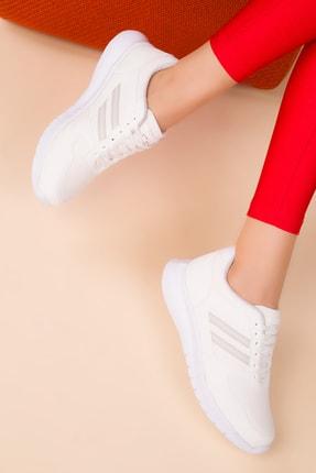 SOHO Kadın Beyaz Sneaker 15225