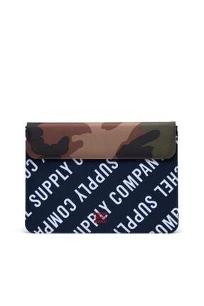 Herschel Herschel Spokane Sleeve For New 13 Inch Macbook Roll Call Peacoat/woodland Camo