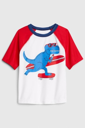 Gap Erkek Bebek Kısa Kollu Rashguard Mayo T-Shirt