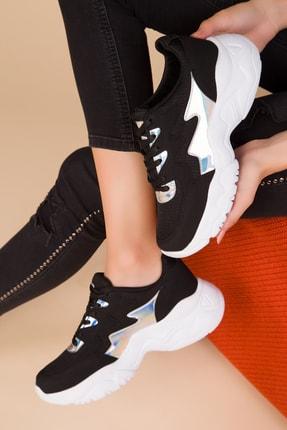 SOHO Kadın Siyah-Neon Sneaker 15231
