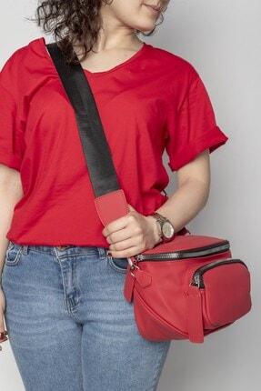 Jacquline Kadın Kırmızı Çapraz Çanta