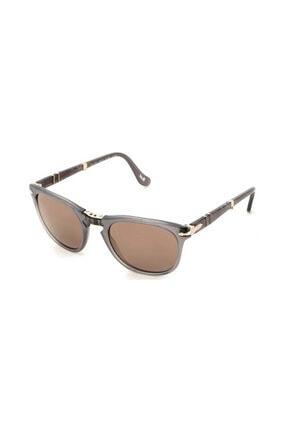 Persol Unisex Kahverengi Güneş Gözlüğü 3028s