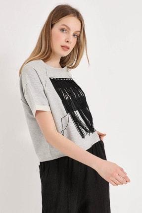 Home Store Kadın A.Grı Sweatshirt 20250220025