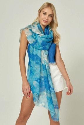 Home Store Kadın Mavı Şal 20103013125