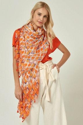 Home Store Kadın Orange Şal 20103013020