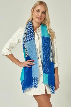 Home Store Kadın Mavı Şal 20103013014