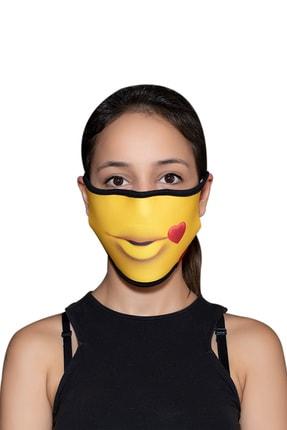 ANGELINO Maske Telli Yıkanabilir Biyeli Us No 48