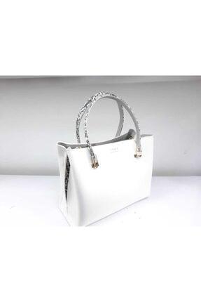 Matmazel Kadın Beyaz Çanta