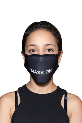 ANGELINO Maske Telli Yıkanabilir Biyeli Us No 40