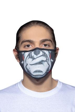ANGELINO Maske Telli Yıkanabilir Biyeli Us No 22