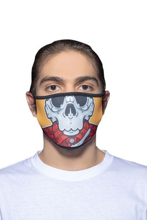 ANGELINO Maske Telli Yıkanabilir Biyeli Us No 27