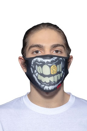 ANGELINO Maske Telli Yıkanabilir Biyeli Us No 42