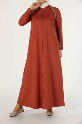 ALLDAY Kadın turuncu PENYE elbise