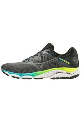 Mizuno Wave Inspire 16 Kadın Koşu Ayakkabısı Gri/siyah