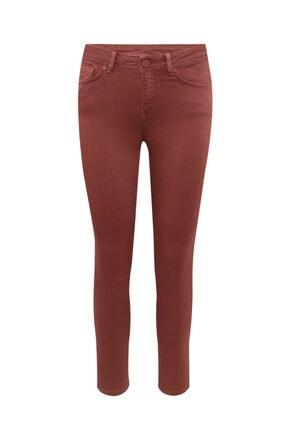 W Collection Kadın Kiremit Rengi Jean Pantolon