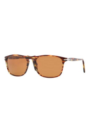Persol Kadın Kahverengi Güneş Gözlüğü