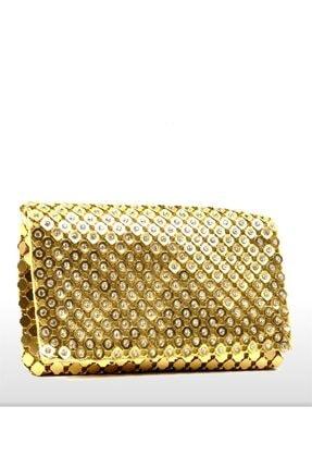 Dsn Kadın Altın Abiye Çanta G29016
