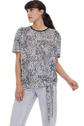 Loft Kadın Beyaz T-Shirt 2023633