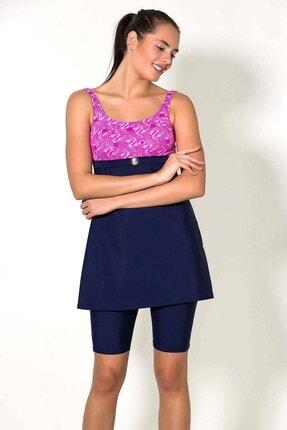 CAMASIRCITY Kadın Renklı  Taytlı Elbise Mayo