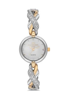 Cacharel Kadın Gold Gümüş Classic Kol Saati