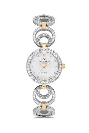 Cacharel Kadın Gümüş Gold Classic Kol Saati