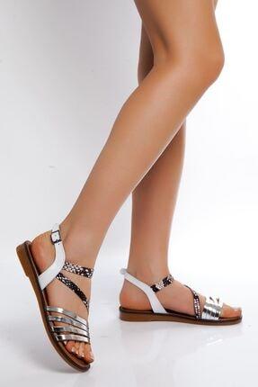 derithy -sandalet-beyaz-gümü
