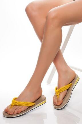 derithy -terlik-sarı