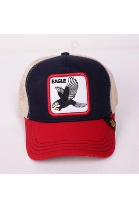 Goorin Bros Unisex Kırmızı Baskılı Şapka