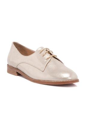 Tergan Hakiki Deri Dore-Deri Kadın Oxford Ayakkabı K19I1AY64211