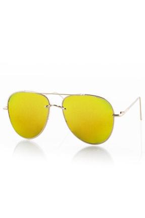 Polo55 LV20LV1976XR006 Sarı UV 400 Kadın Güneş Gözlüğü