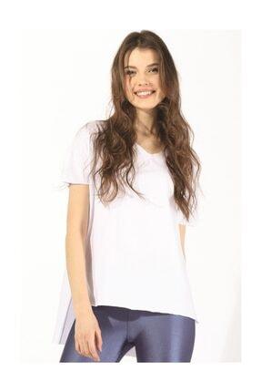 Twister Jeans Kadın Tshırt Bts Oversize Tshirt 3003 Beyaz
