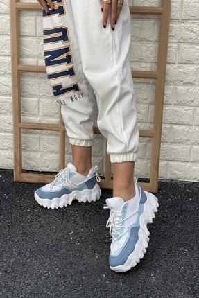 İnan Ayakkabı Kadın Mavi Sneaker