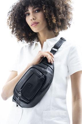 Benetton Kadın Siyah Bel Çantası Bnt435