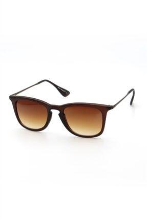 Silvio Monetti Kadın Mat Kahverengi Uv400 Güneş Gözlüğü