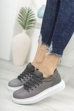 Chekich Ch021 Kadın Ayakkabı Antrasit