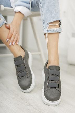 Chekich Ch253 Kadın Ayakkabı Antrasit