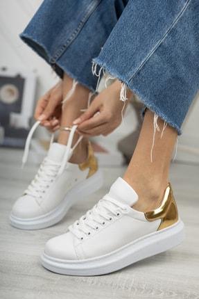 Chekich Ch259 Kadın Ayakkabı Beyaz Altın