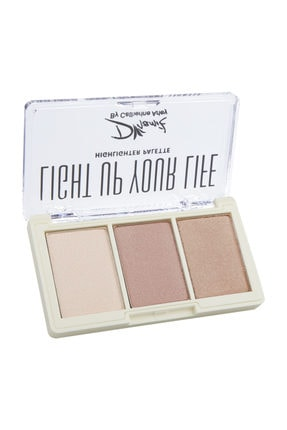 Catherine Arley Dinamik By  Light Up Your Life Highlighter Palette